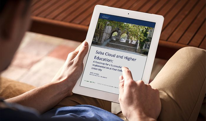 Saba Cloud and Higher Education