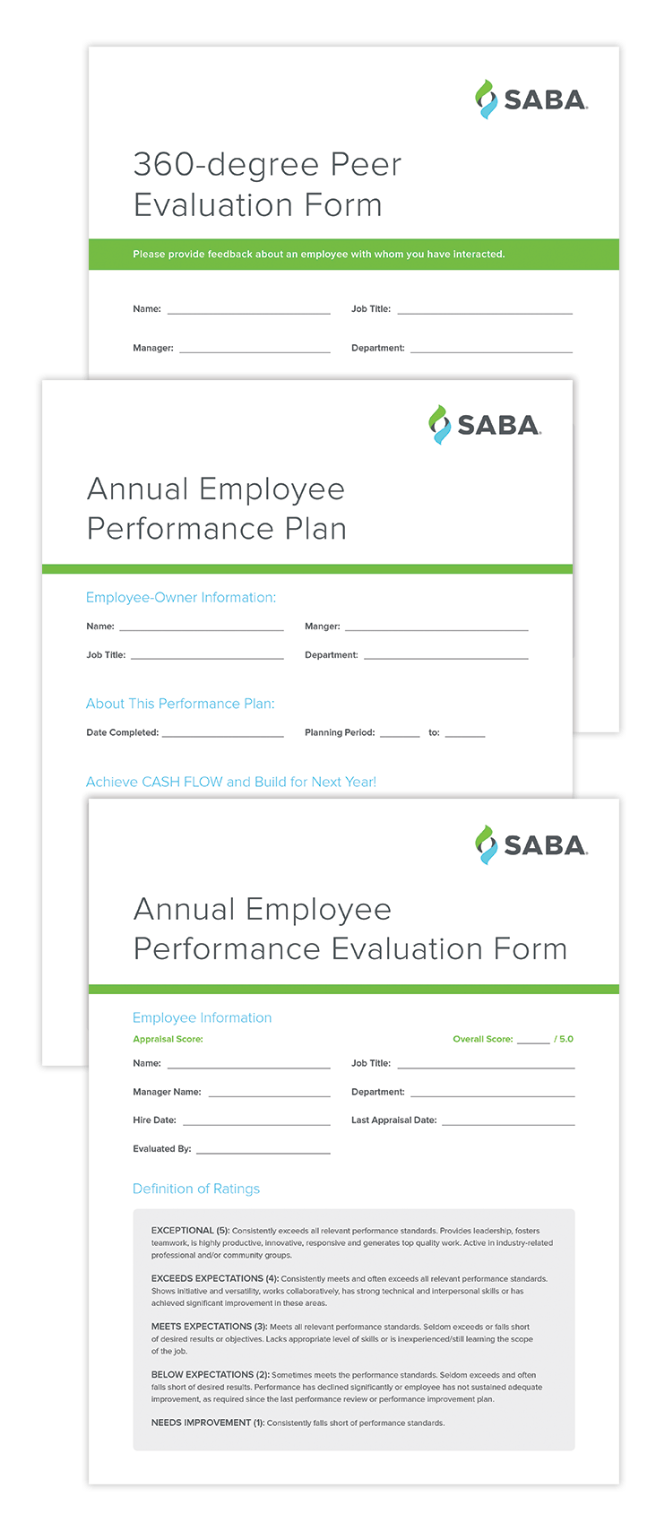 employee appraisals samples